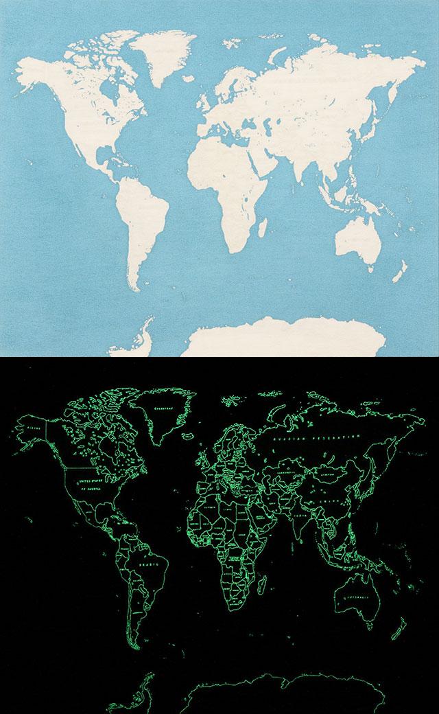 青山悟《Map of the World》