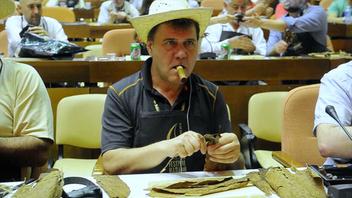 動画:米観光客、キューバの葉巻フェスタで至福の一服