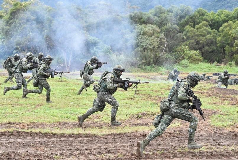 台湾、春節前の軍事演習実施 外...