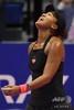 女子テニス、東レ・パンパシフィック・オープン、シングルス決勝。試合に臨む大坂なおみ(2018年9月23日撮影)。(c)Toshifumi KITAMURA / AFP
