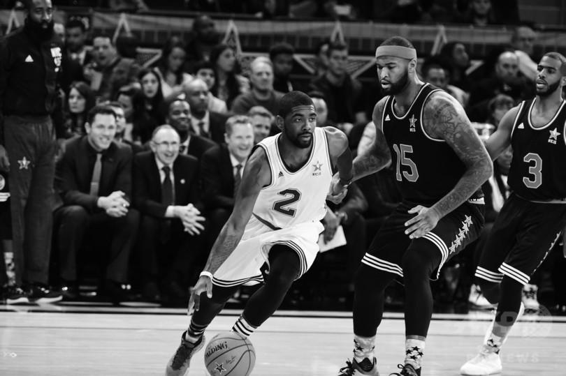 白黒写真で見る第64回NBAオール...