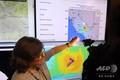 米カリフォルニア州パサデナのカリフォルニア工科大学地震研究所で、2019年7月4日に発生したマグニチュード(M)6.4の地震について報道陣に説明する地震学者のルーシー・ジョーンズ氏(2019年7月4日撮影、資料写真)。(c)Robyn Beck / AFP