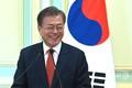マレーシアのプトラジャヤで記者会見する韓国の文在寅(ムン・ジェイン)大統領(2019年3月13日撮影)。(c)MOHD RASFAN / AFP