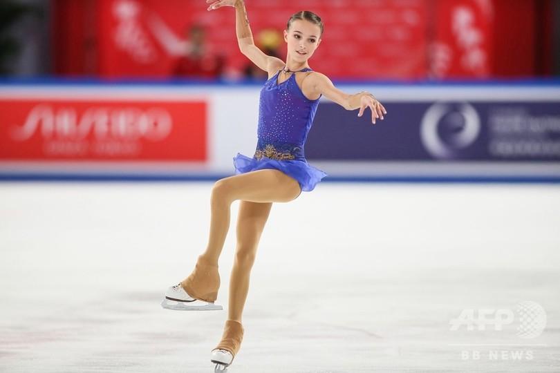 ロシアの15歳シェルバコワが中国杯優勝、GPファイナル確定 宮原2