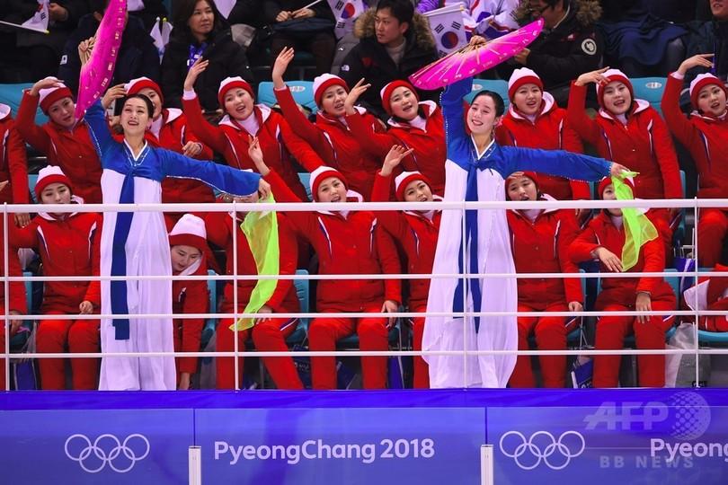 南北合同チーム初戦で北朝鮮「美...