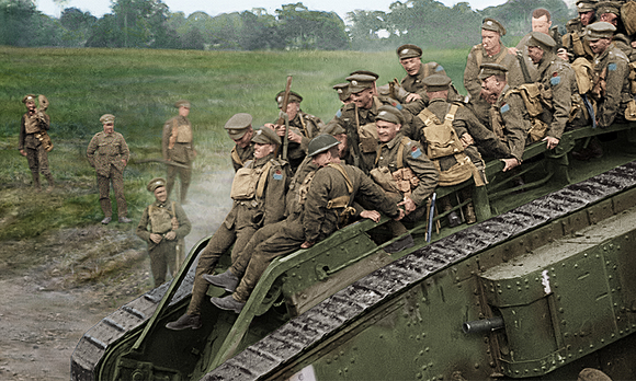 驚異のカラー映像で甦った第一次世界大戦の記録『彼らは生きていた ...