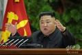 北朝鮮・平壌で開かれた朝鮮労働党中央委員会総会に出席した金正恩(キム・ジョンウン)朝鮮労働党委員長(2019年12月28日撮影、同月29日配信)。(c)AFP PHOTO/KCNA VIA KNS